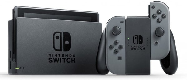 Nintendo Switch Gaming Console 32GB Grey Joy Con