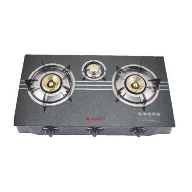 Veneti 3 Glass Gas Burner VI723GS