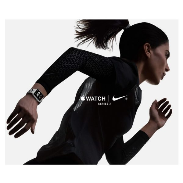 526d3022170b7f Apple Watch Nike+ Series 3 GPS - 38mm Space Grey Aluminium Case with  Anthracite Black