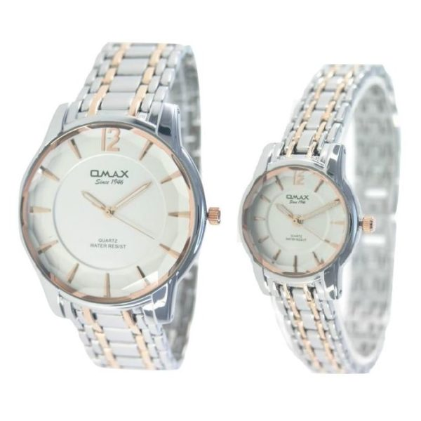 Omax Pair Watch 00CGH001N008 00CGH002N008