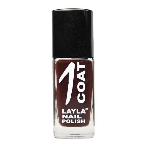 Layla 1 Coat Nail Polish Dark Chocolate 030