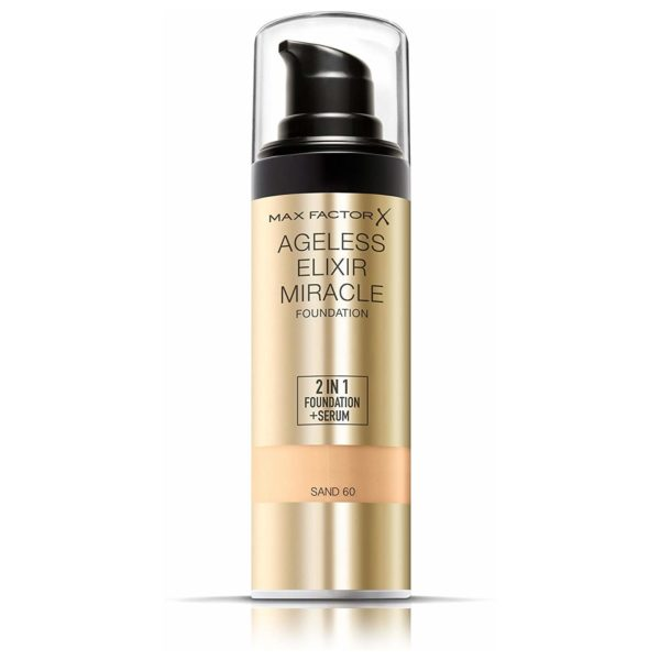 Max Factor Ageless Elixir Miracle Foundation 60 Sand