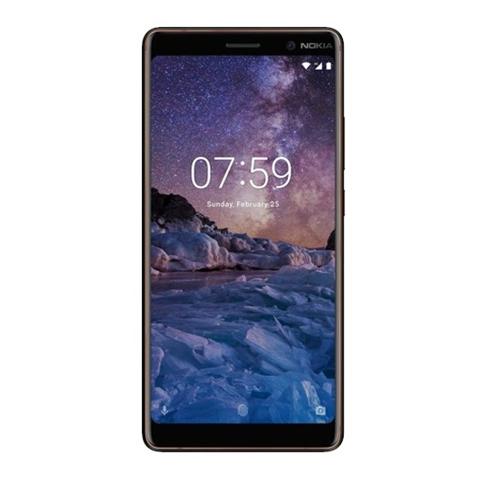 Nokia 7 Plus 64GB Black Copper 4G LTE Dual Sim Smartphone TA-1046