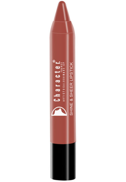 Character Shine & Sheer Lipstick Brown SSL007