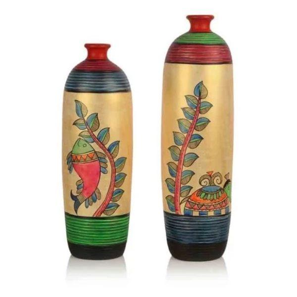 Moorni EL006056 Vase Set Bottle Shape