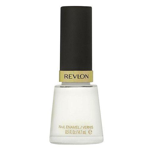 Revlon Nail Polish White On White 050
