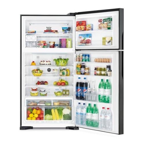 Hitachi Top Mount Refrigerator 910 Litres RVG910PUK5GBK