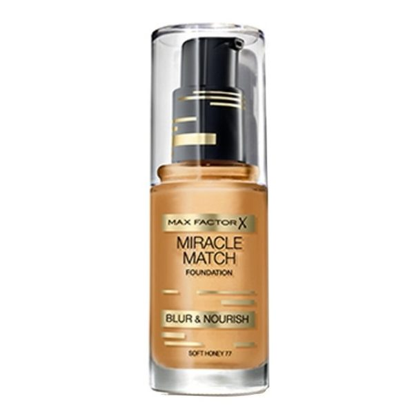 Max Factor Miracle Match Foundation Soft Honey 77