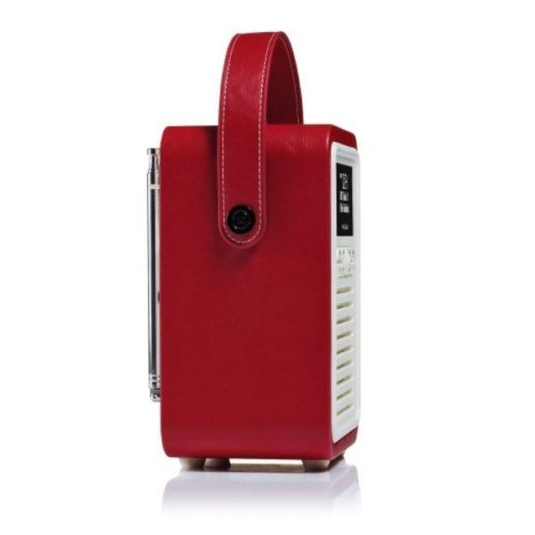 Viewquest Retro Mini Radio Red