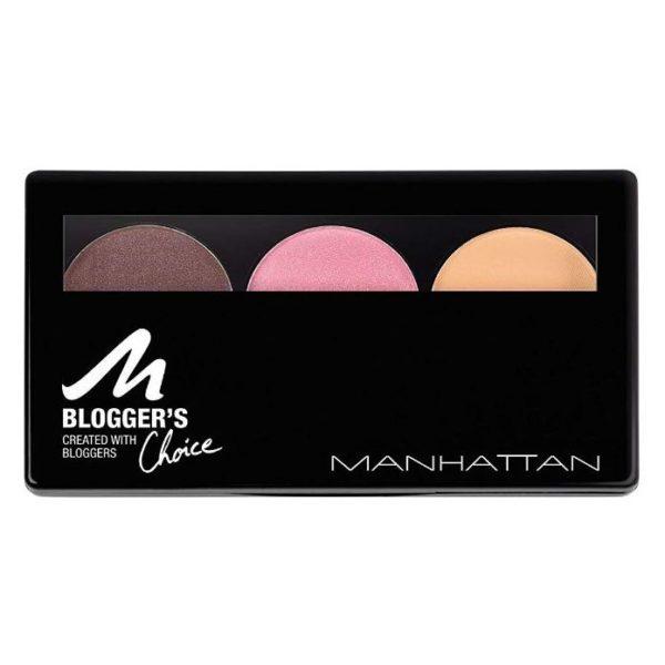 Manhattan Bloggers Choice 3 Downtown to Earth Eyeshadow 3607344559293