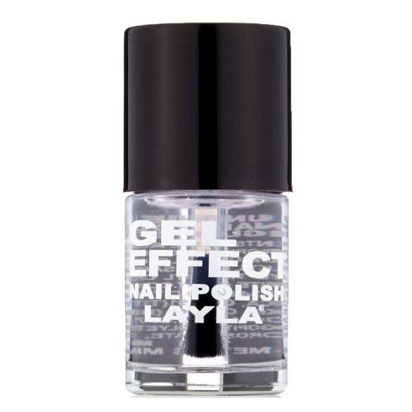 Layla Gel Effect Nail Polish Top Coat 019