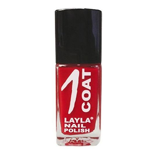 Layla 1 Coat Nail Polish Red Explosion 006