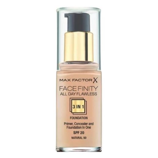Max Factor Facefinity 3N1 Foundation 50 Natural 81377977