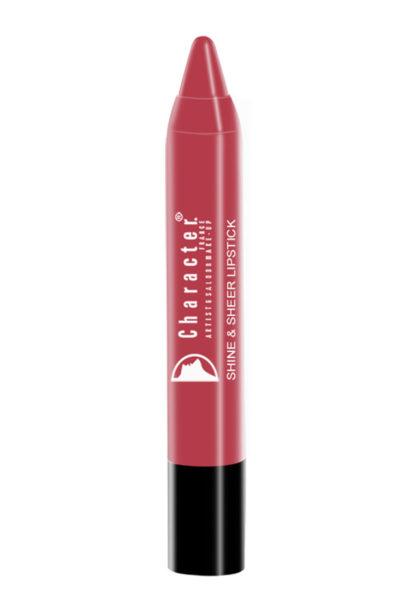 Character Shine & Sheer Lipstick Pink SSL016