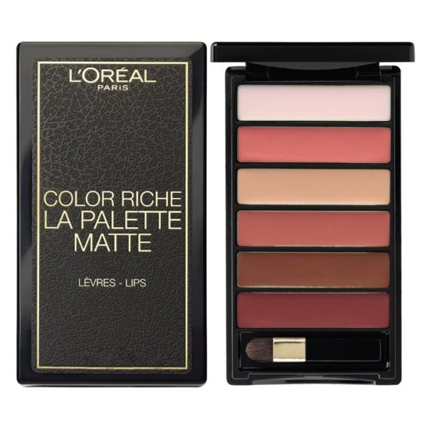 Loreal Color Riche Lipstick Matte Pallet Nude Lipstick
