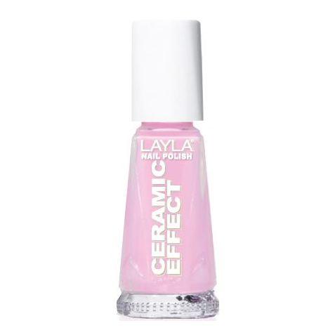 Layla Ceramic Effect Nail Polish My Pink Doll 057