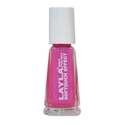 Layla Nail Polish Softouch Neon Pink 004