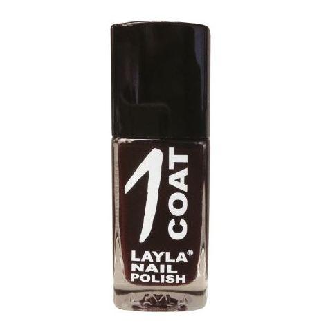 Layla 1 Coat Nail Polish Lady Brown 011
