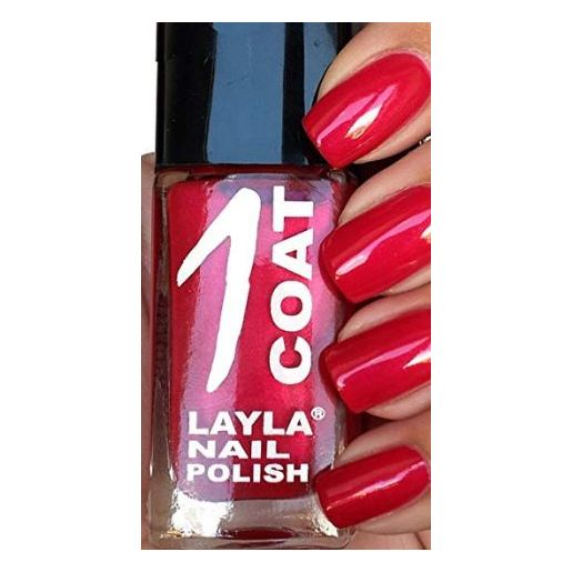 Layla 1 Coat Nail Polish Cherry Brandy 021