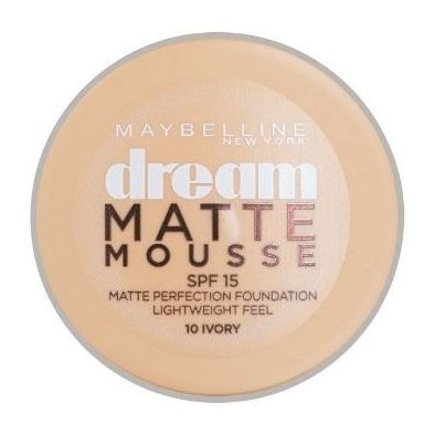 Maybelline Dream Matte Mousse 10 Ivory Foundation
