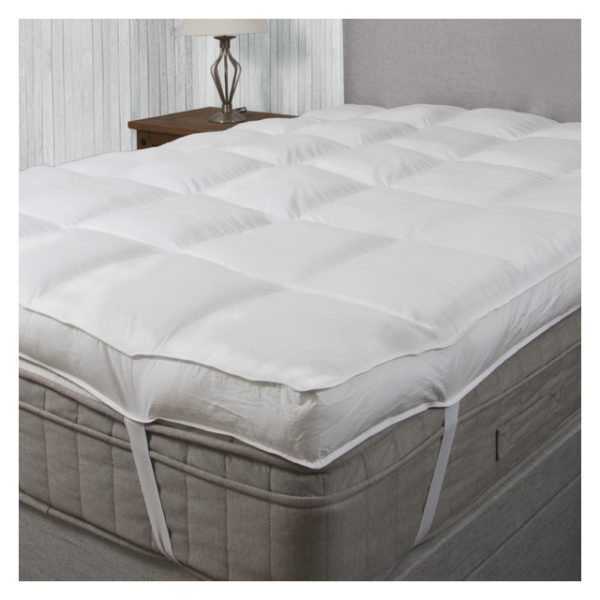 Buy Kingtex Mattress Topper Double 180x200cm White Price Specifications Features