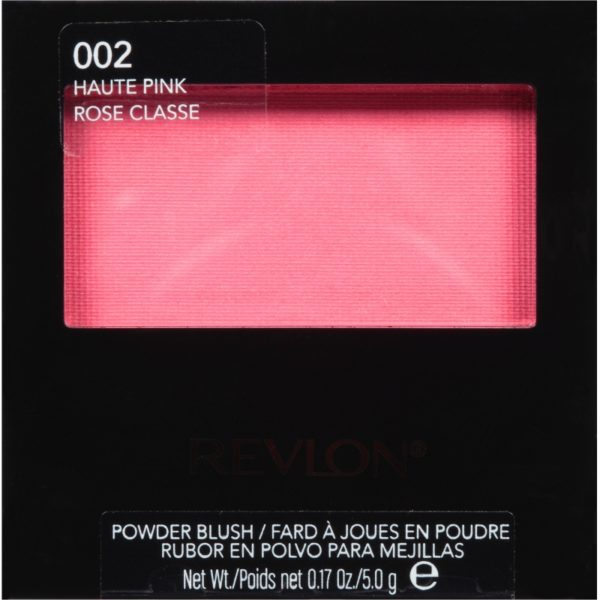 Revlon Blush Haute Pink 002