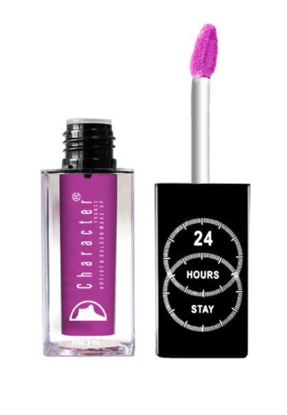 Character 24 Hour Stay Lipgloss Violet LPG041