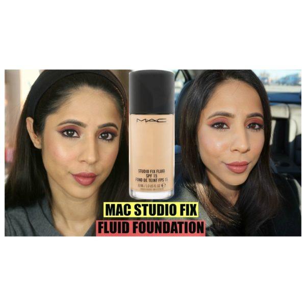 MAC Studio Fix Fluid SPF15 NC40 Foundation