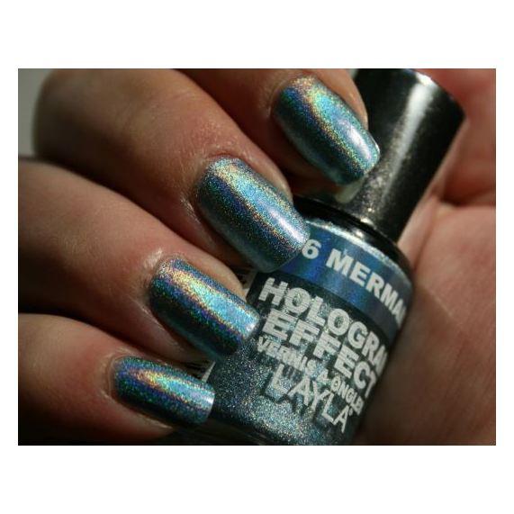 Layla Hologram effect Nail Polish Mermaid Spell 006