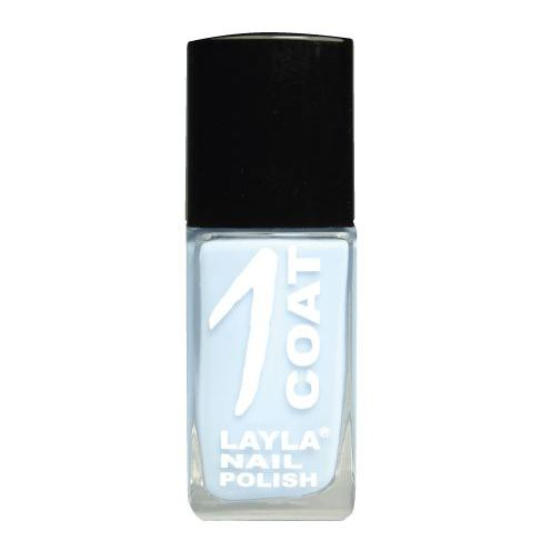 Layla 1 Coat Nail Polish Blue Skies 018