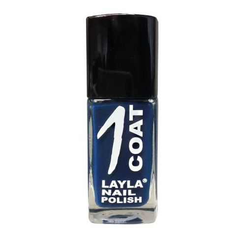 Layla 1 Coat Nail Polish Surf Blu 008