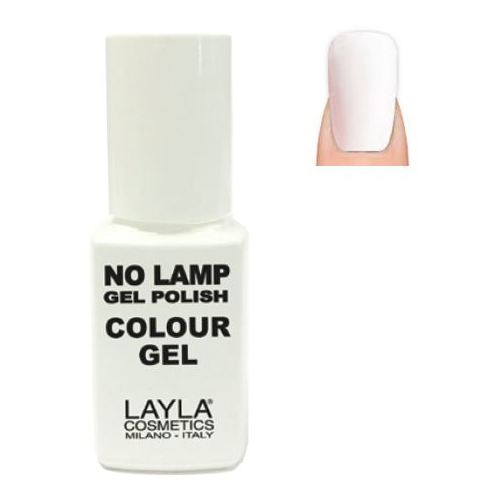Layla No Lamp Gel Nail Polish Straight White 001