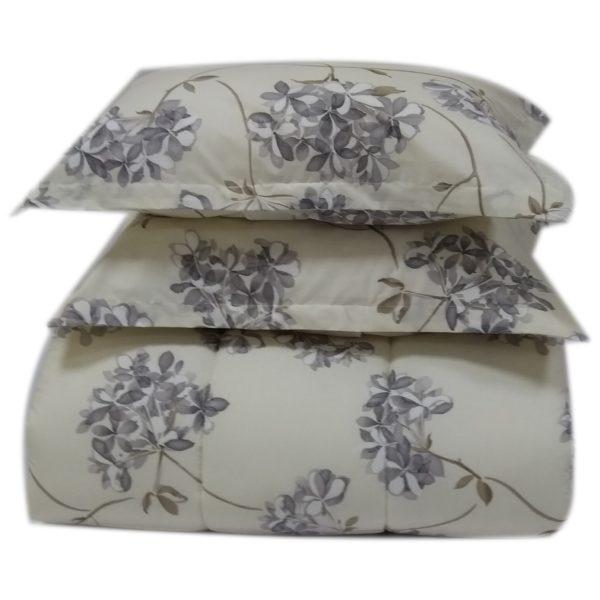 AIWA AI-504-4/144TC Single Comforter Set 160x240cm Poly Cotton Print Beige