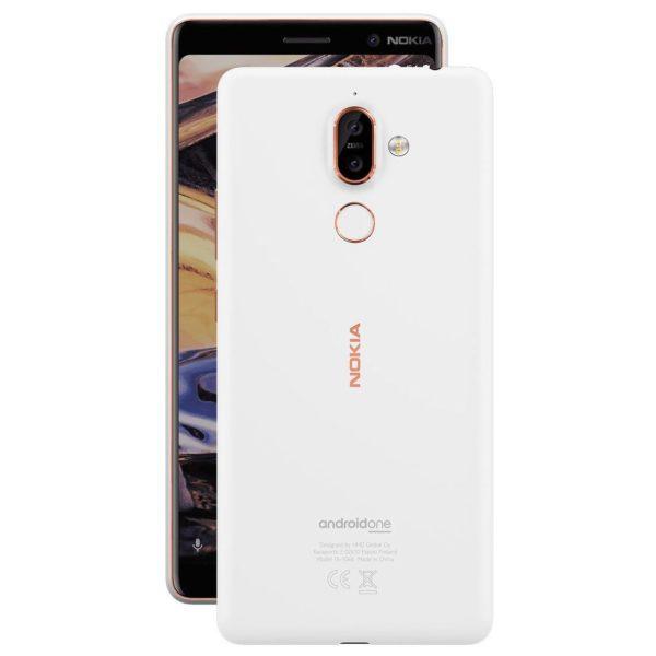 Nokia 7 Plus 64GB White Copper 4G LTE Dual Sim Smartphone TA-1046