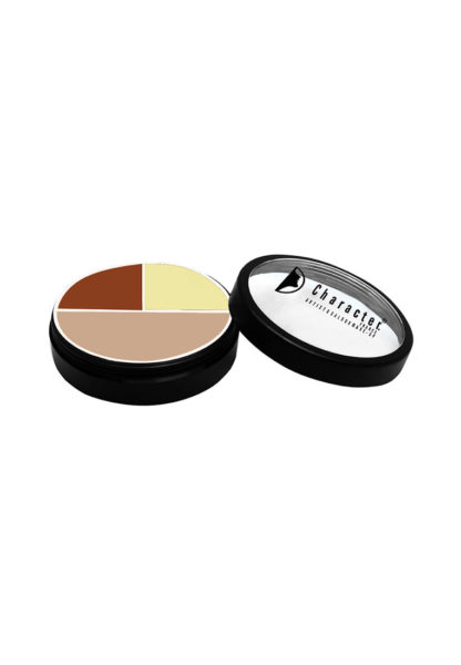 Character Ultra Foundation 3 Color Concealer Multicolor CUF004