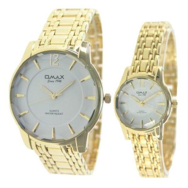 Omax Pair Watch 00CGH001Q003 00CGH002Q003