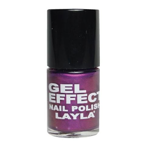 Layla Gel Effect Nail Polish Radiant Orchid 024