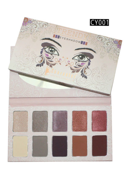 Character Trendy Eye Shadow Multicolor CY001