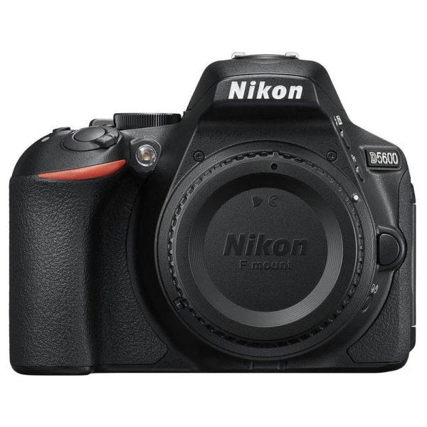 Nikon D5600 DSLR Camera Black With AF-P 18-55mm VR Lens + AF-P 70-300mm Lens