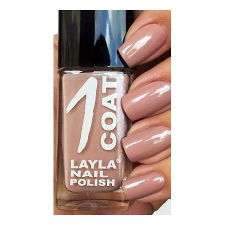 Layla 1 Coat Nail Polish White Russian 015