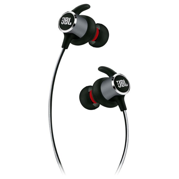 JBL Reflect Mini 2 Sweatproof Wireless Sport In-Ear Headphones Black