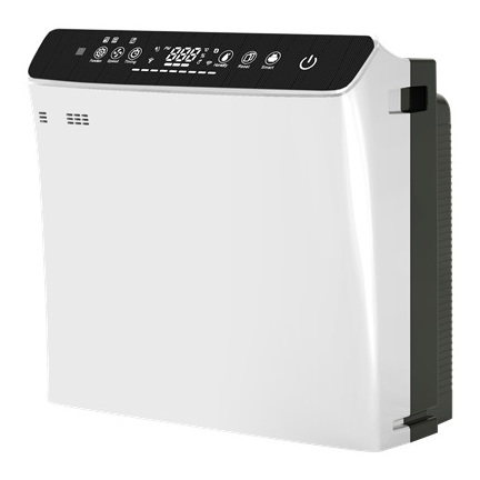 Eklasse EKAIRP03BR Air Purifier With Humidifier With HEPA Filter