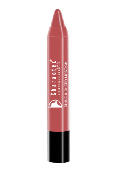 Character Shine & Sheer Lipstick Brown SSL019