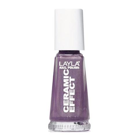 Layla Ceramic Effect Nail Polish Lilac Rules 043