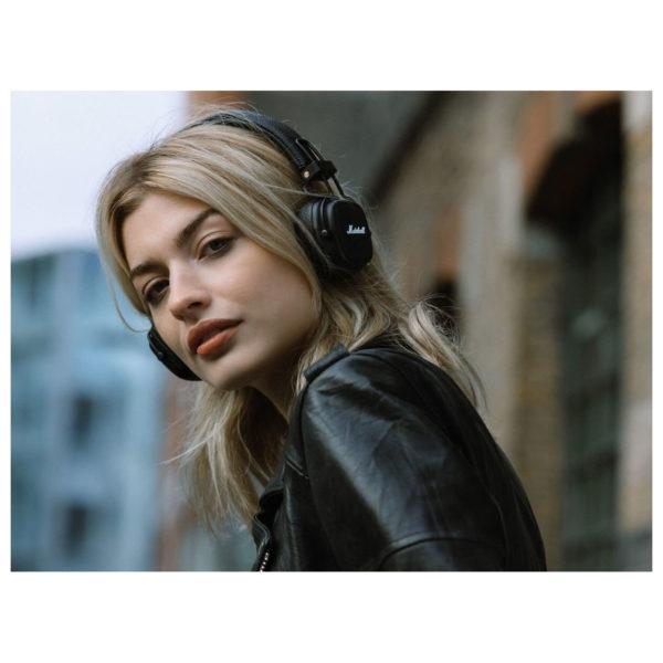 Marshall Major III Bluetooth On Ear Headphone Black