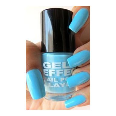 Layla Gel Effect Nail Polish Blue Swim 015