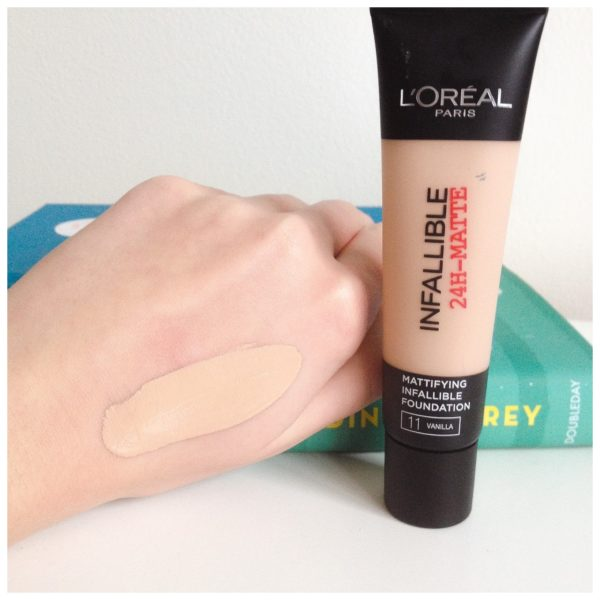 Loreal Infallible 24H Matte 11 Vanilla Foundation