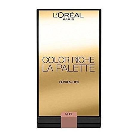 Loreal Color Riche Lipstick Pallet Nude Lipstick