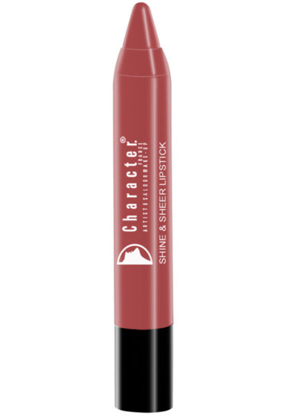 Character Shine & Sheer Lipstick Brown SSL009