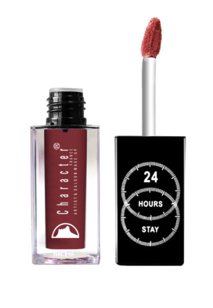 Character 24 Hour Stay Lipgloss Maroon LPG035